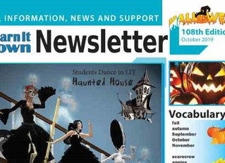 Learn It Town October Newsletter