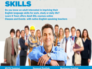 Improve your English Language Skills at Learn It Town
