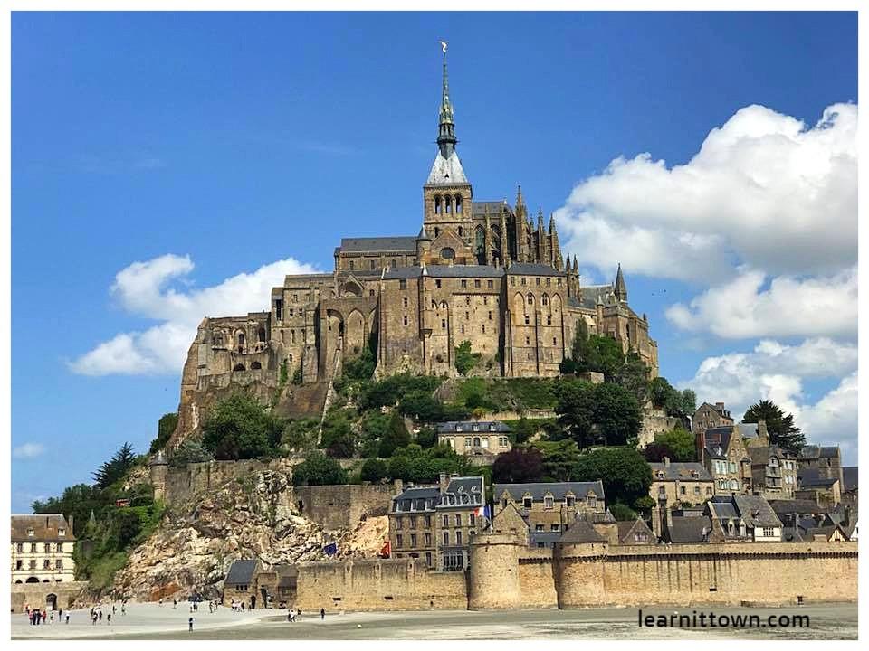 Le Mont-Saint-Michel in Britanny, France