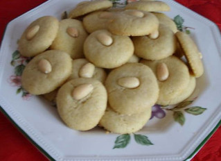 Holiday Cookie - Ghorayebah from Egypt