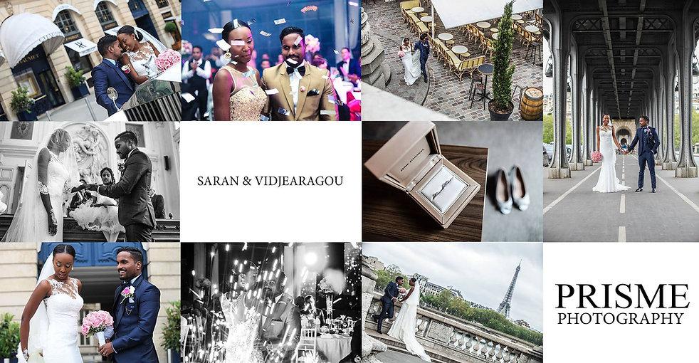 Mariage de Saran et Vidjé réalisé par Prismephotographie