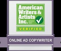AWAI Verified Badge _OnlineAdCopywriter.