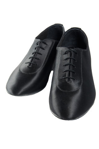 Men latin ballroom dancing sateen shoes
