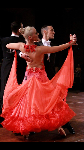 Red Ballroom Dress