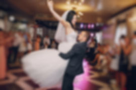 a wonderful pair of dancing at your wedding in a restaurant_