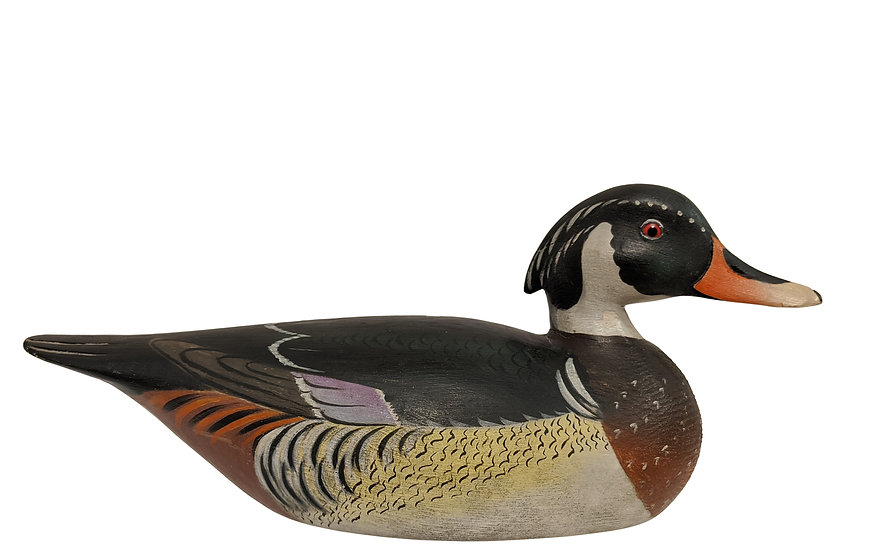 Wood Duck Drake - Elmer Crowell