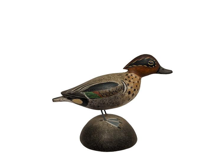 Green-winged Teal Drake Miniature - Elmer Crowell