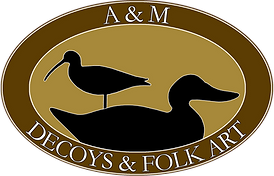 A&M Decoys & Folk Art 2019 Logo no dsh c