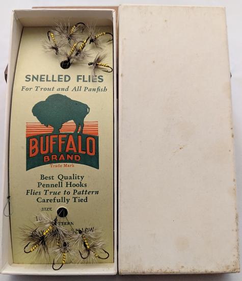 Gray Hackle Yellow - Buffalo Brand Trout Flies