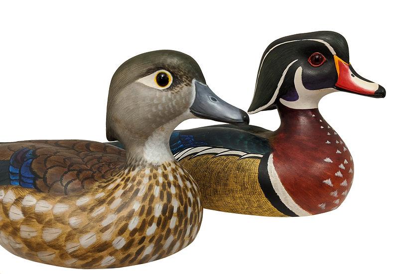 Wood Duck Pair - Robert G. Kerr