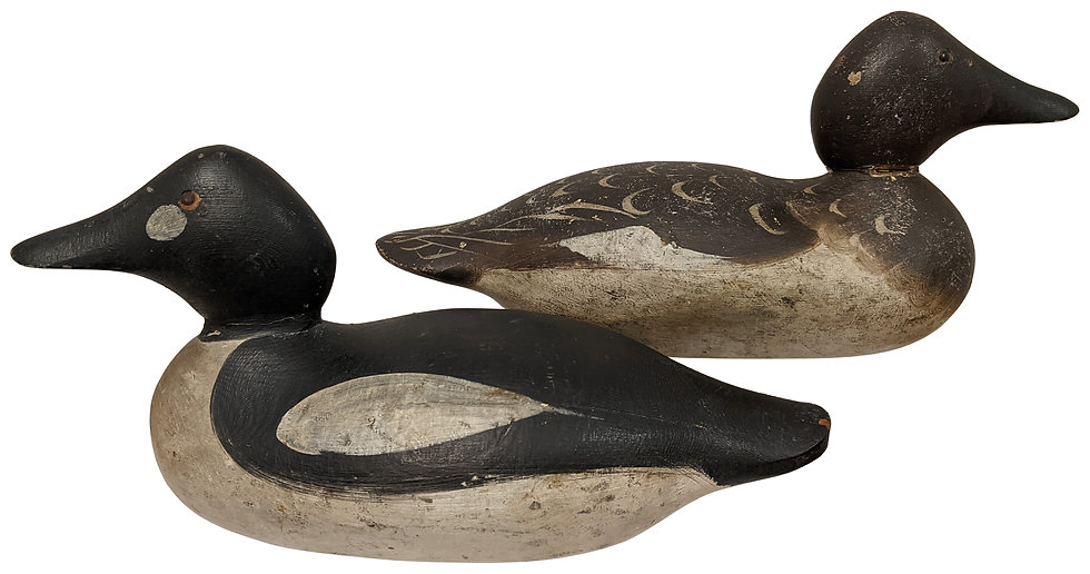 Goldeneye Pair - Mason Decoy Factory