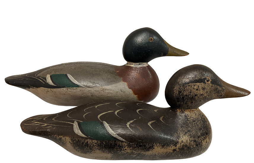 Mallard Pair - Mason Decoy Factory