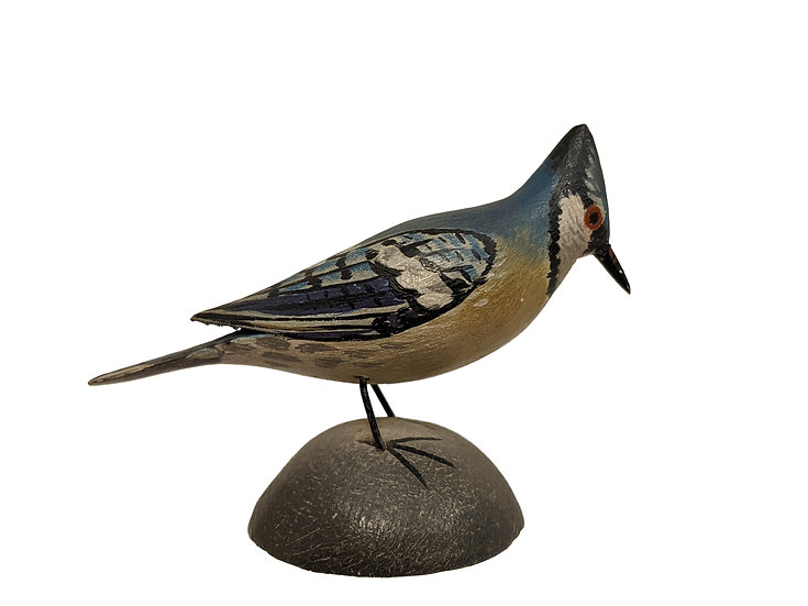 Miniature Blue Jay - Elmer Crowell
