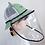 Thumbnail: Gorro con careta protectora para infantes