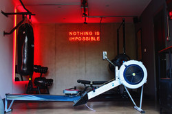 Industrial Style Home Gym - Sonning on Thames, Berkshire