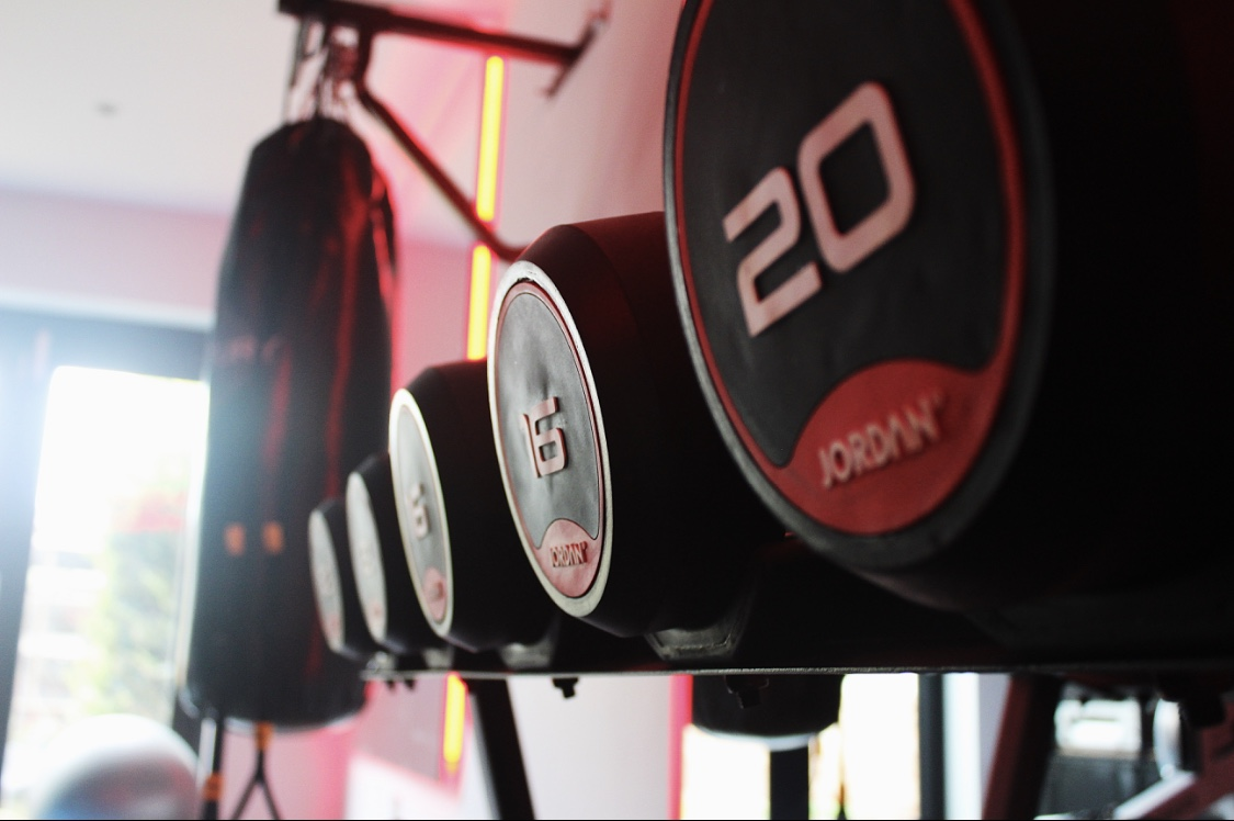 Equipment supply - Industrial style home gym - Sonning on Thames, Berkshire