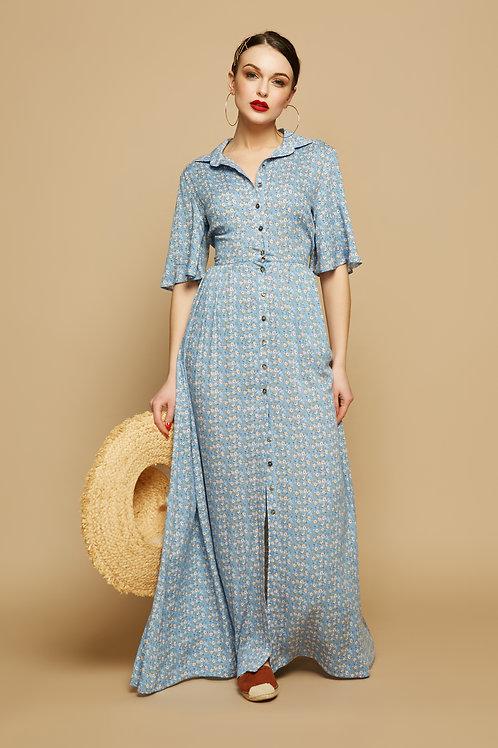 Платье-рубашка Ирма