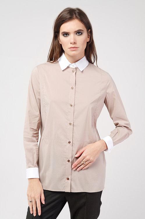 Блуза Стефани бежевый