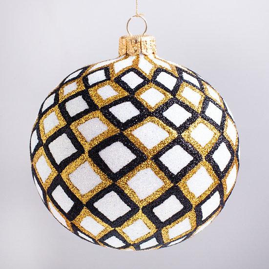 "#2146 - Thomas Glenn ""Festival"" Ball Christmas Ornament"