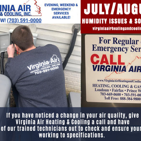 VIRGINIA SUMMER HUMIDITY AND YOUR HVAC