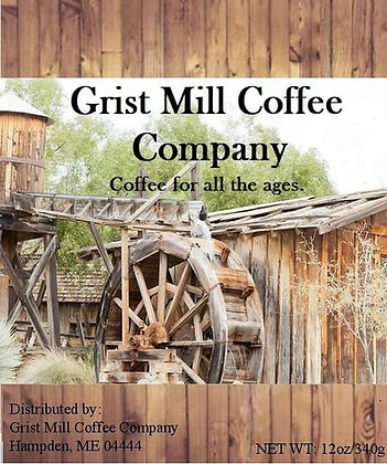 Brazil Santos Medium Blend Grist Mill Coffee
