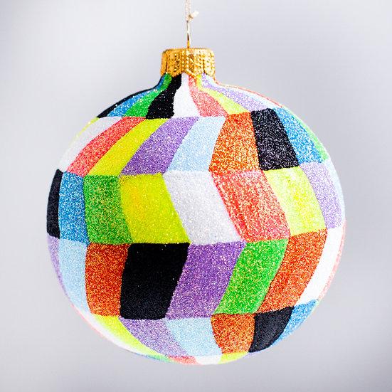 "#2100 - Thomas Glenn - ""Performance"" Ball Christmas Ornament"