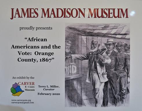 Traveling Exhibit at JMM Feb 1 2020