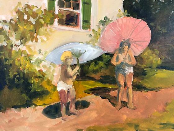 Umbrella Sisters