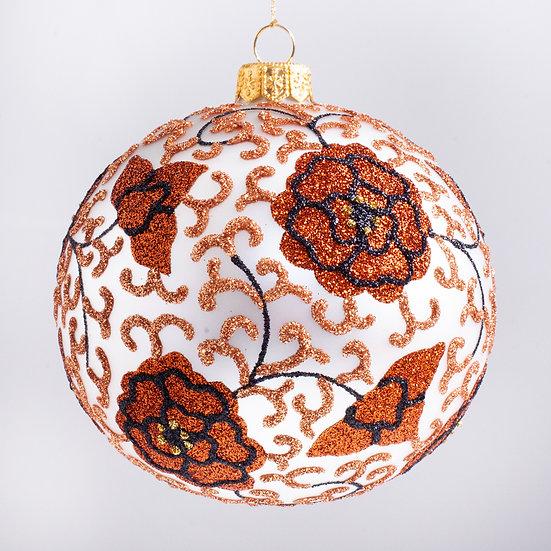 "#1961CINN - Thomas Glenn ""Ginger Jar - Cinnabon"" Ball Christmas Ornament"