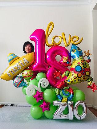 Fiesta Balloon Sculpture