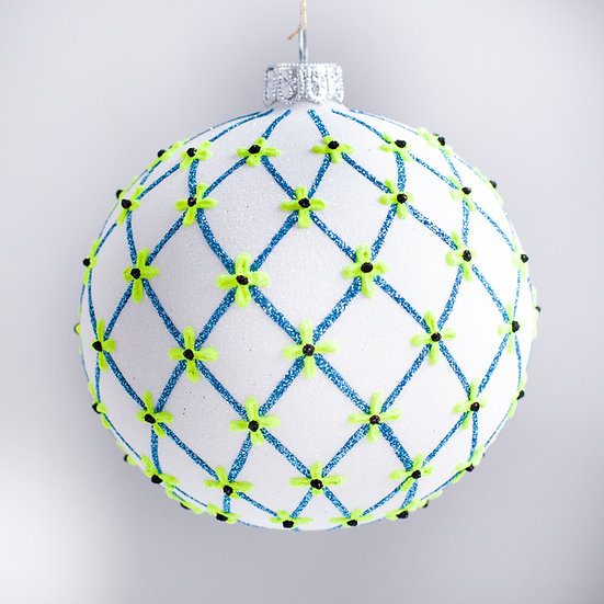 "#2108 - Thomas Glenn ""Arles"" Ball Christmas Ornament"