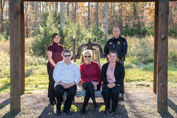 Orange County Sheriff's Department Support Staff at Germanna Fort