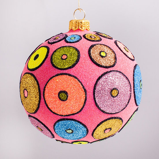 "#2102 - Thomas Glenn ""Disco Fever"" Ball Christmas Ornament"