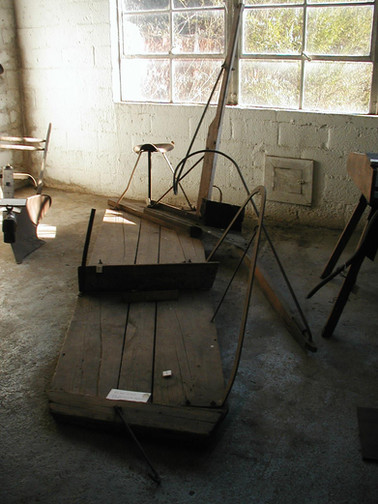 Corn Cutter, Horse Operated. Circa late 1800's into early 1900.