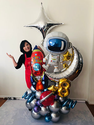 Space Balloon Sculpture