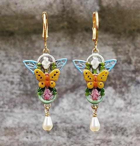 Pollinator Butterfly Earrings