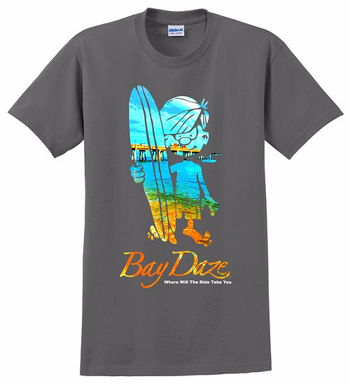 Bay Daze Boy Surfer Youth Tees