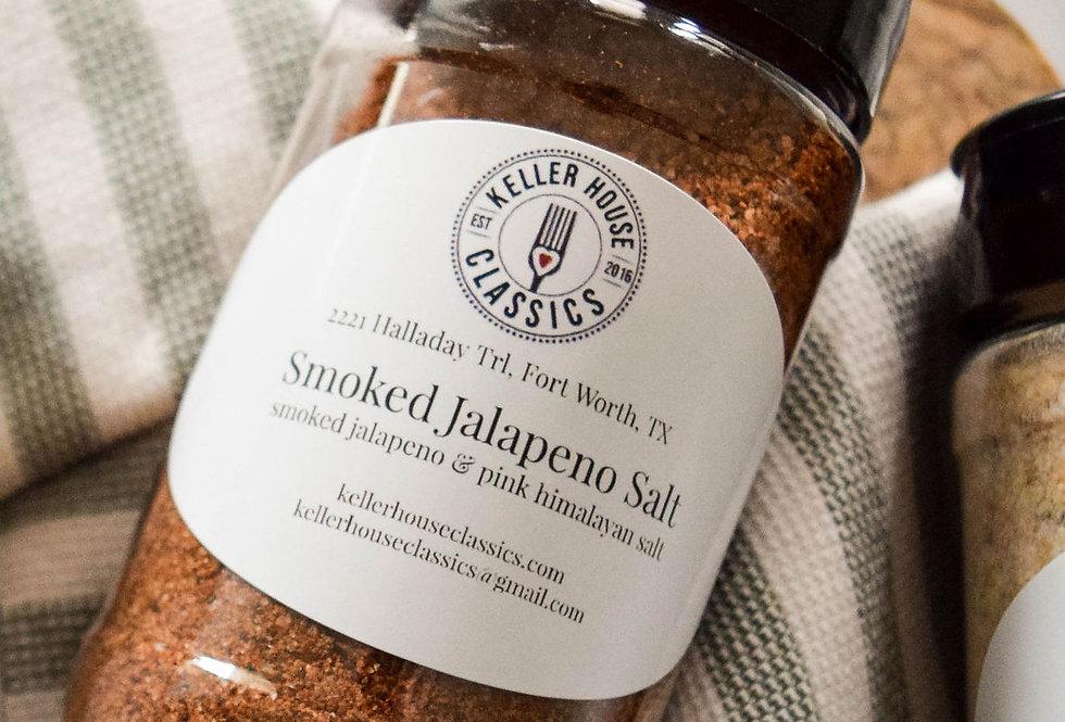 Custom Blend Smoked Jalapeno Salt