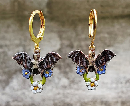 Pollinator Bat Earrings
