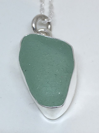 Sea Bottom Seaglass Pendant