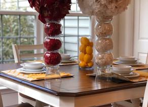Dannette's Design Tip for October: Holiday Centerpieces