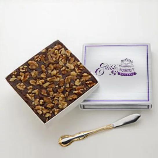 Chocolate Walnut Fudge  - 1 lb