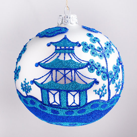 "#2187 - Thomas Glenn ""Yinshu"" Ball Christmas Ornament"