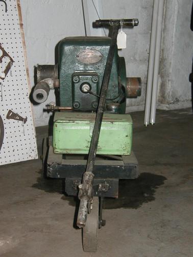 "Fairbanks-Morse engine; Circa pre-1930. Favorite working engine of ""Pike"" Harrington."