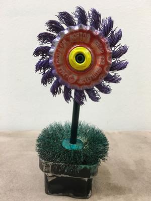 Pete Zinck Easter Cactus_ steel parts_$7