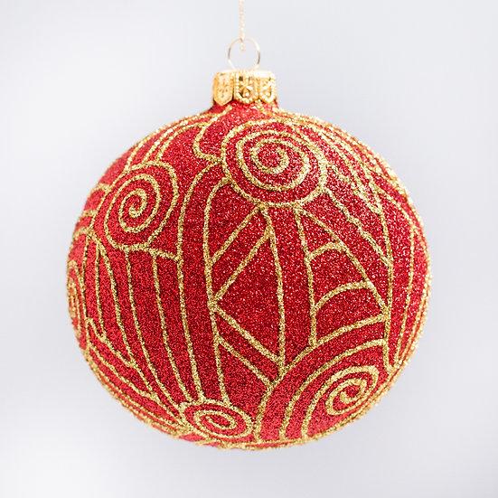 "#2120 - Thomas Glenn ""Erte"" Ball Christmas Ornament"