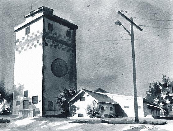 The Purina GrainTower