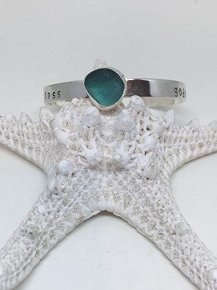 Seaglass Goddess Cuff