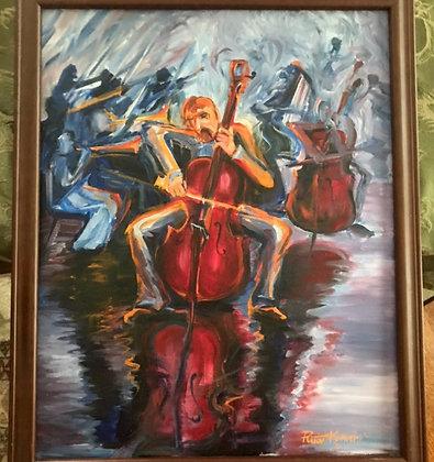 Raspberry Cello