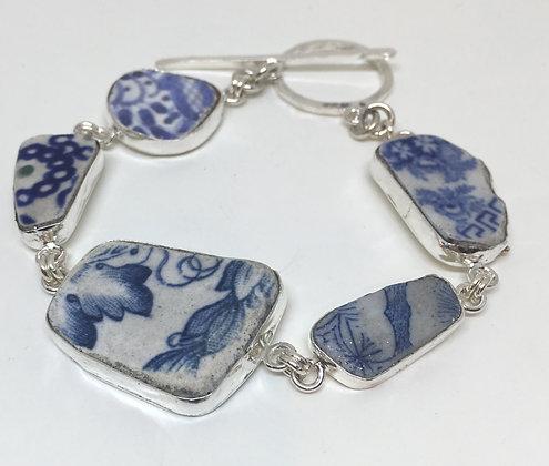 English Pottery Bracelet